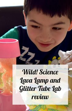 This super fun kit has everything you need to create a cool Lava Lamp!