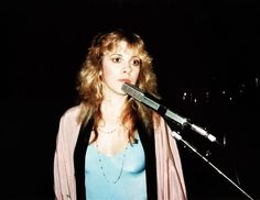Stevie at the mic