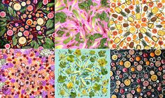 I never thought I could love vegetables more - totally in love with this and want to eat all of these designs! Artist Amber Locke creates beautiful works of art from real fruit and vegetables