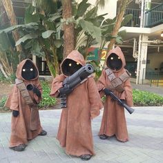 These Star Wars Jawa are killer!  If I had children this would happen!