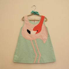 Our super new and most treasured Flamingo Dress is finally here!! Fresh from the oven and straight to welcome our SALES season. Made with a thin, soft 100% cotton poplin, lined with 100% cotton poplin, and buttons up on back part at teardrop, only one button.If you need any help please send us a message, we'll be happy to help. Thank you! :)