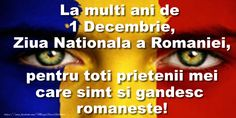 [Today is Romania birthday.Lets say togheter (La multi ani Romania ,te iubim)] 1 Decembrie, Anul Nou, Online Poker, I Can Do It, Im Trying, I Am Game, Romania, Spirituality, Sayings