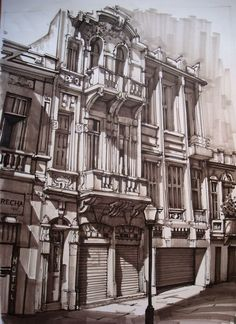 Interesting Find A Career In Architecture Ideas. Admirable Find A Career In Architecture Ideas. Architecture Antique, Architecture Drawings, Architecture Design, Building Sketch, Perspective Drawing, Sketch Markers, 3d Drawings, Urban Sketchers, Marker Pen