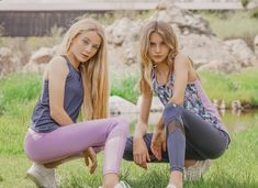 One of the things that has kept us sane these last few weeks is being able to workout. Jill Yoga has the cutest new spring styles and looking fashi… Preteen Fashion, Office Fashion Women, Fashion Tips For Women, Teen Fashion Outfits, Girl Fashion, Cute Teen Outfits, Teenage Girl Outfits, Teenager Outfits, Outfits For Teens