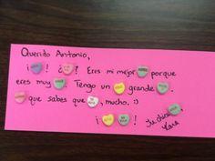 Candy Love Letters... en espanol!