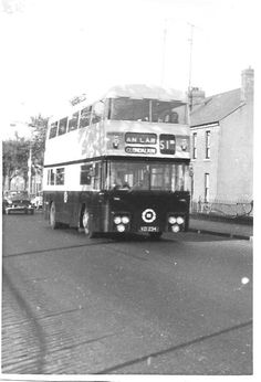 The origins of bus services in Dublin go back to the first horse tram, the Terenure route, in A network of tram routes developed quickly, and the network was electrified between 1898 and Old Pictures, Old Photos, Buses And Trains, Photo Engraving, Dublin City, Dublin Ireland, Awakening, Transportation, Irish