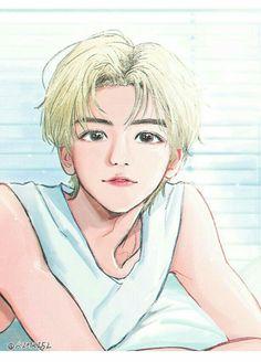Kpop Drawings, Cute Drawings, Nct Dream Jaemin, Nct Life, Cute Couple Art, Lucas Nct, Na Jaemin, Art Reference Poses, Kpop Fanart