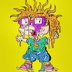 Trippy Cartoon, Cartoon Smoke, Cartoon Drawings, Cartoon Art, Buff Monster, Stoner Art, Funky Art, Cartoon Design, Dope Art