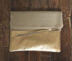Sydney Clutch - Leather