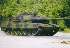 Leopard 2 Main Battle Tank, Germany  The Leopard 2 A6 EX main battle tank.