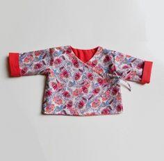 Brassière cache-coeur réversible pour bébé {tuto et patron} - Couture - Pure Loisirs
