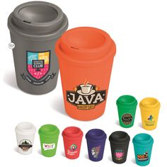 Mix and match with the Americana Double-Wall Tumbler – Choose your tumbler and lid colour, to match your style or your brand. Price includes a 1 colour, 1 position Screen Wrap (setup fees apply). T's & C's Apply. Thing 1, Bakery Cafe, Mix N Match, Tumbler, Coffee Mugs, How To Apply, Branding, Colour, Bottle