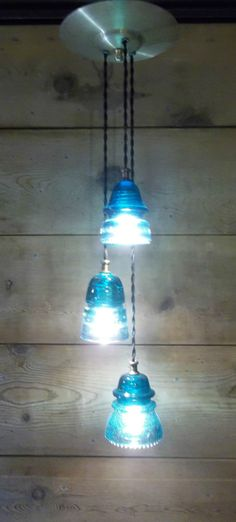 Glass insulators were first produced in the 1850 39 s for use for Telephone insulator light fixture