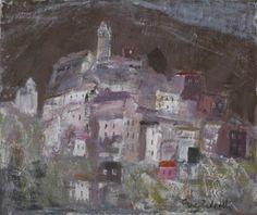 Peille, A Hillside Village - Anne Redpath - The Athenaeum