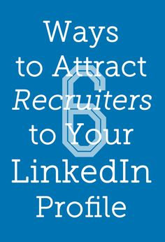 Make sure your LinkedIn account is getting the right eyes on your work.
