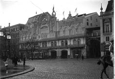 Antigo Eden Teatro,1915, foto de Joshua Benoliel, in a.f. C.M.L.