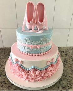 Birthday party photography friends families 69 Ideas for 2019 Dance Cakes, Ballet Cakes, Ballerina Cakes, Pretty Cakes, Beautiful Cakes, Amazing Cakes, Dance Birthday Cake, Novelty Cakes, Girl Cakes