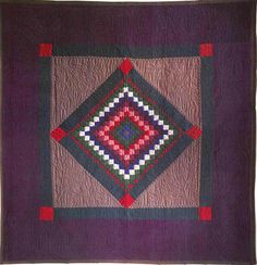 Amish quilt. Similar tones to mine. Stunning.