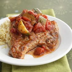 Slow Cooker - Italian Pork Chops