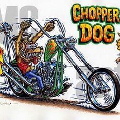 RAT FINK Chopper dog