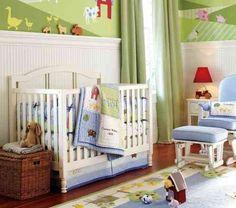 déco de mur de chambre complète de bébé