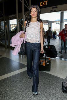 What: Giambattista Valli coat, Miu Miu bag, Citizens of Humanity jeans When: May 11, 2015 Where: LAX airport   - HarpersBAZAAR.com