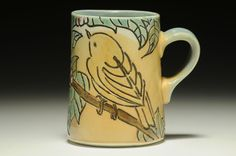 Rebekah Strickland Warbler Mug