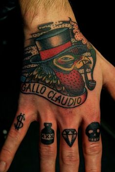 best hand tattoo i have ever seen
