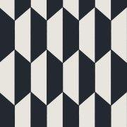 Papier peint Tile noir et blanc de Cole and Son