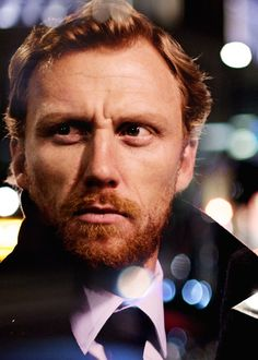Kevin McKidd. The sexiest ginger beard on television.