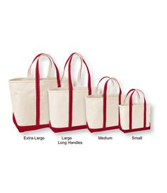 Boat and Tote Bag, Open-Top: Tote Bags | Free Shipping at L.L.Bean