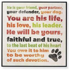 Friend for Life...#doglovers