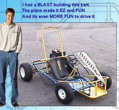 DIY Offroad Gokart Plans   Go Kart Designs