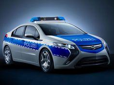 PHEV police car