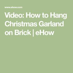 how to store christmas garland