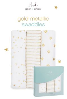b2caf8056e3d7 little ones born to shine will love our 100% cotton muslin swaddles with  new metallic