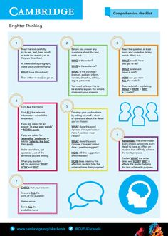 View our free GCSE English Comprehension Strategy Checklist