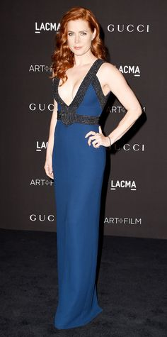 Look of the Day - November 3, 2014 - Amy Adams in Gucci from #InStyle