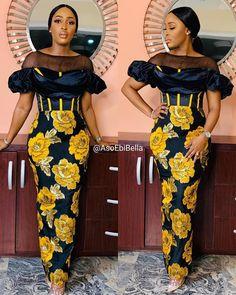 African Fashion Ankara, Latest African Fashion Dresses, African Dresses For Women, African Print Fashion, African Attire, Ankara Long Gown Styles, Lace Dress Styles, Ankara Gowns, Ankara Styles