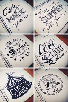 #Freebie alert: Hand-drawn Lettering desktop wallpaper Set @ Didi Kasa   Independent Graphic & Web Designer