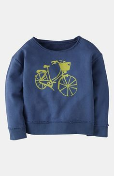Mini Boden 'Washed Logo' Sweatshirt (Toddler) available at #Nordstrom