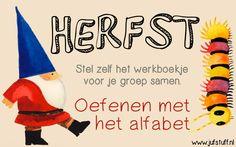 Juf-Stuff: Herfst: Oefenen met het alfabet