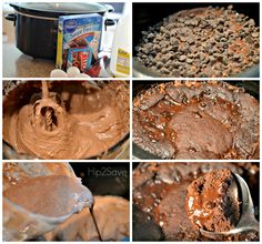 How to make chocolate lava cake in the slow cooker Hip2Save
