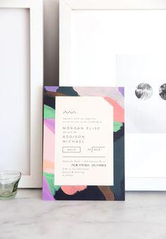 wedding invitations | designlovefest