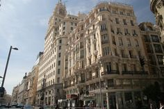 Edificio de Telefónica, Madrid España.
