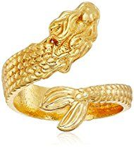 Alex and Ani Ring Wrap, Mermaid, Stackable Ring, Size 5-7