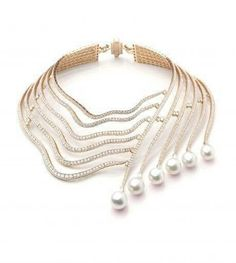 Cartier pearl and di beauty bling jewelry fashion
