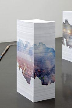 Aleksandra Domanovic paper sculpture