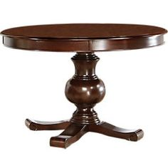 Picture Of Emory Heights Cherry Round Dining Table From Dining Tables  Furniture