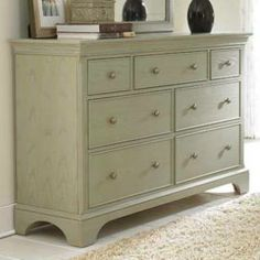 Check out the American Drew 901-130S Ashby Park Dresser in Sage priced at $1,155.00 at Homeclick.com.
